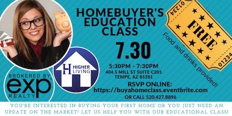 Homebuyers Class tickets