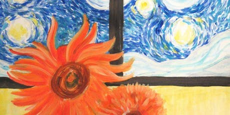 Paint Van Gogh + Wine! Afternoon, London Bridge, Saturday 21 September tickets