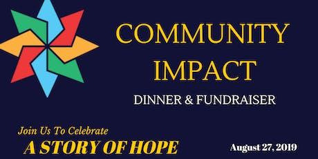 Community Impact Dinner 2019 tickets