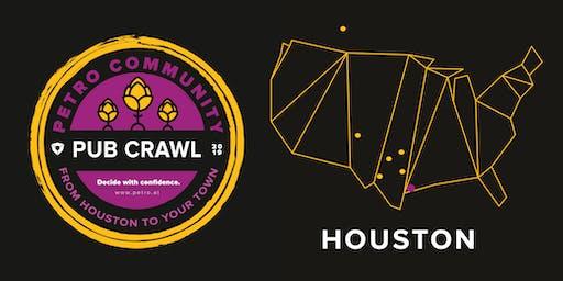 Petro Community Pub Crawl: Houston Happy Hour with Dr. Mark Zoback