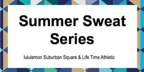 lululemon Suburban Square Summer Sweat Series tickets