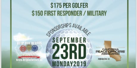 Help for heroes/CPOA golf tournament tickets