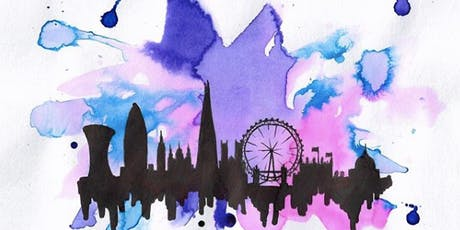 Paint London + Wine! Late Afternoon, London Bridge, Sunday 22 September tickets