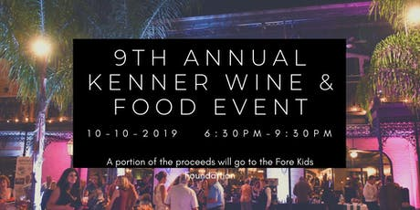 2019 Kenner Wine & Food Event tickets