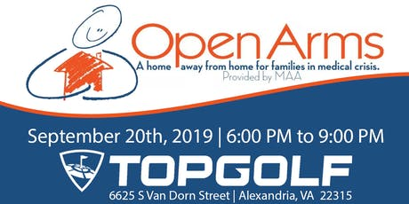 2nd Annual Open Arms Top Golf tickets