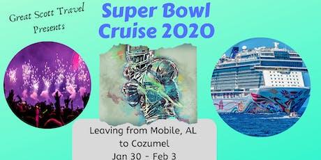 Great Scott Travel Super Bowl 2020 Cruise tickets