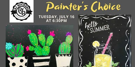 Paints and Pints at RJ Rockers Brewing Company tickets