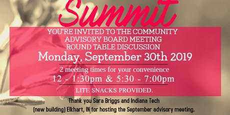 Women's Entrepreneur Summit Community Advisory Board Meeting - September tickets