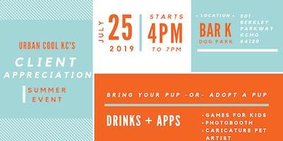 BarK Client Appreciation Summer Event