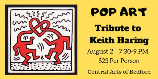 POP ART: Tribute to Keith Haring