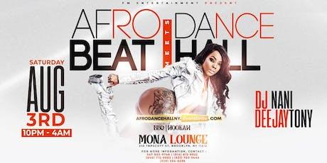 AFROBEAT MEETS DANCEHALL [Caribana vibes] tickets