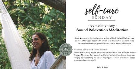 Free - Self Care Sunday @ Saje  Fashion Island - by Zenfinite tickets