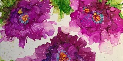 Vivid Color - Alcohol Ink Painting Class