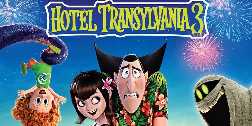 Family Movie Night Showing: Hotel Transylvania 3 Tickets, Wed, Aug