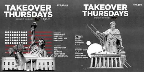 Takeover Thursdays – DJs RODD, BURR, SWIIIPE, BOMB$HEL & GATZ tickets