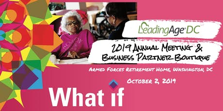 2019 LeadingAge DC Annual Meeting and Business Partner Boutique tickets
