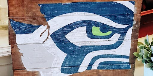 WA Seahawks Paint Night