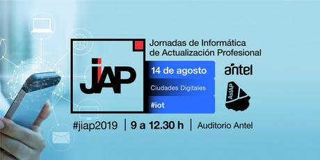 #JIAP2019 - Ciudades Digitales (IOT) tickets