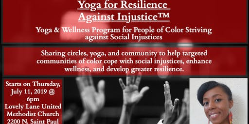 Free-Yoga for Resilience against Injustice-People of Color