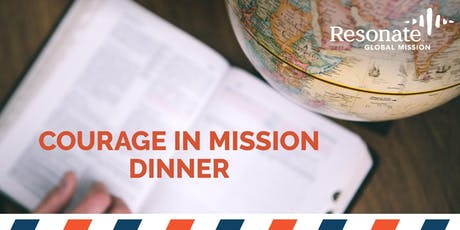 Courage in Mission Dinner tickets
