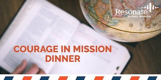 Courage in Mission Dinner