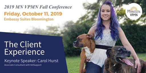 2019 Fall Conference Keynote Carol Hurst: Client Service 2.0 - Elevate to the Next Level with