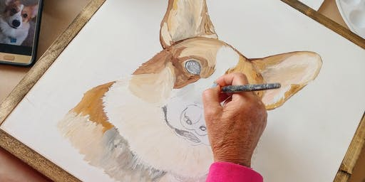 SOLD OUT - PAINT YOUR OWN PET CLASS