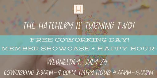 We're Turning 2! | Free Coworking Day & Member Showcase + Happy Hour!