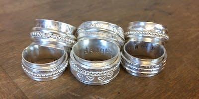Beginners Silver Spinner Ring