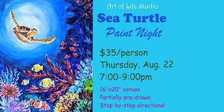 Paint Night: Sea Turtle tickets