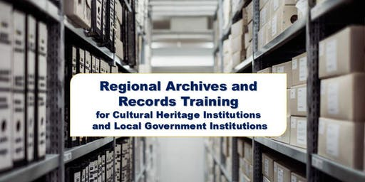 Regional Archives and Records Training