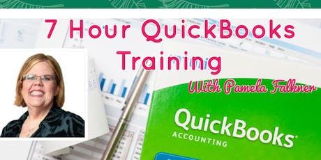 7 Hour QuickBooks Training tickets
