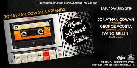 Miami Legends @ Treehouse Miami tickets