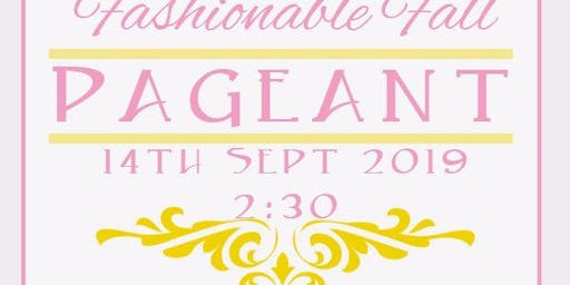 Fashionable Fall Pageant