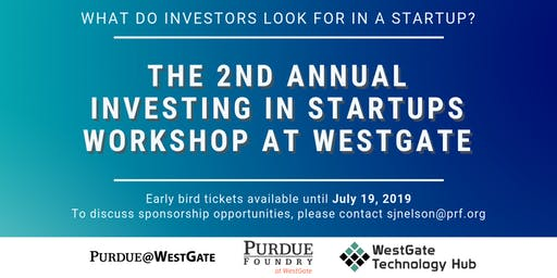 THE 2ND ANNUAL INVESTING IN STARTUPS WORKSHOP @WESTGATE