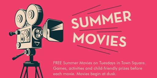 FREE Summer Movie Series at Victoria Gardens