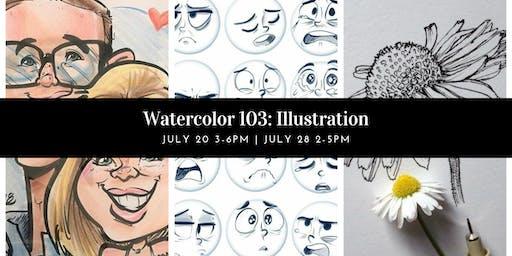 Watercolors 103: Illustration