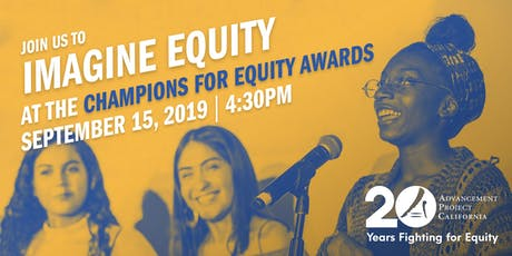 2019 Champions for Equity Awards tickets