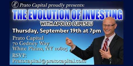 The Evolution of Investing at Prato Capital tickets