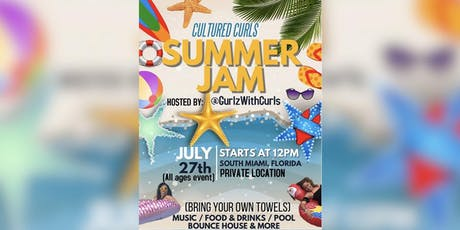 "CULTURED CURLS ""SUMMER JAM"" hosted by: @GURLZWITHCURLS tickets"