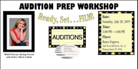Audition Prep Workshop tickets