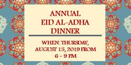 Annual Eid al-Adha Dinner tickets