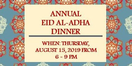 Annual Eid al-Adha Dinner