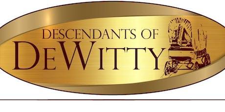 Descendants of DeWitty, NE the First African American Settlement in NE tickets