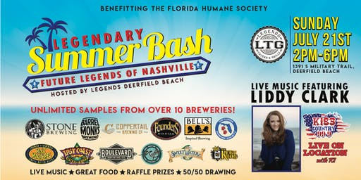 Legend's Summer Bash
