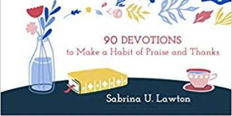 EACH DAY A GIFT w/ Sabrina Lawton + ENTER TO WIN a copy of her book! tickets