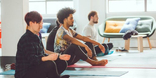 Yoga at Google for Startups Campus
