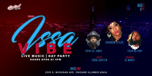 Issa Vibe (Live Music and Day Party)