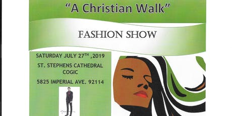 """ A Christian Walk Fashion Show "" tickets"