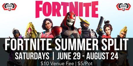 Ukatsu's Fortnite Summer Split tickets